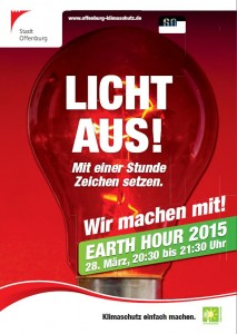 EarthHour2015 Offenburg