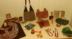 Produkte von der Indien-Reise