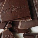 Nahaufnahme Schokolade von fairafric