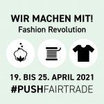"""Grafik: """"Wir machen mit! Fashion Revolution"""""""